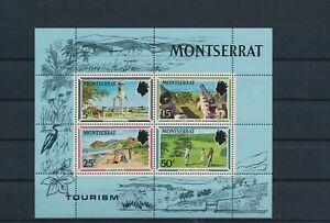 LO40864 Montserrat tourism views landscapes good sheet MNH
