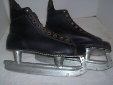 Vintage Canadian Flyer Rally Bobby Orr Nhl Certified Ice Hockey Skates Black