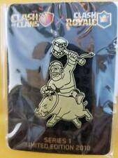 2018 Supercell Clash Of Clans Brass Collectible Pin 1000 made Hog Rider