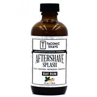 Taconic Shave Bay Rum Aftershave Splash Tonic - Cools, Soothes & Hydrates