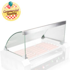 Glass Cover Only For Hot Dog 7 Roller Grill Cooker Replacement Or Upgrade