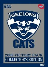 AFL - GEELONG CATS 2009 VICTORY PACK 4 DISC PACK COLLECTOR'S EDITION