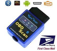 ELM 327 VGATE Bluetooth V1.5 OBDII Diagnostic Scanner for Android or PC ELM327