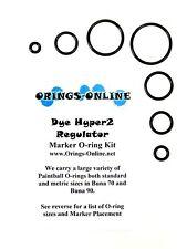 Dye Hyper2 Paintball Regulator O-ring Oring Kit x 2 rebuilds / kits