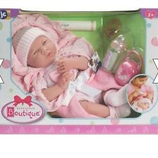 BERENGUER LA Newborn Baby Girl DOLL Soft Bodied 39 cm REBORNING real life play,