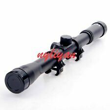 New .22 caliber 4X20 Optic Sniper Scope Reticle Sight For Rifles Hunting