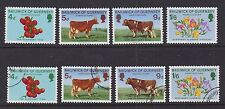 Great Britain Guernsey 1970 Used Mint MNH Full Set Agriculture Horticulture Food
