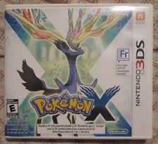 Nintendo 3DS Pokemon X (Manual, box and game)