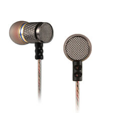 In Ear Sports Stereo Headphones Earphone Music Heavy Bass Sound Headset Golden