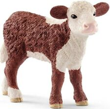 Schleich Hereford Calf figure - model number 13868