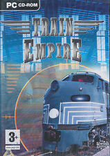 TRAIN EMPIRE - Build & Manage Train Simulation - PC Game - NEW in BOX!