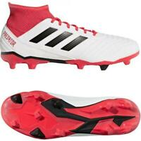 New adidas Predator 18.3 FG Mens Football Boots UK 6 to 11 White cleats soccer