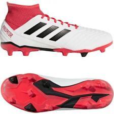 Nuevo Adidas Depredador 18.3 Fg Hombre Botas de Fútbol UK 6A 11 Blanco Tacos