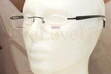 CARRERA 7543 eyeglasses Frame FK5 Matte Blue Rimless Frame 100% Authentic