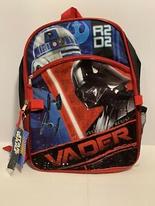 star wars darth vader backpack with lunchbox new with tags
