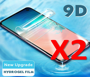 2 PACK For Samsung Galaxy S9,S8,S7 3D Hydrogel Protective Film Screen-Protector