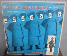 LP Serge Jaroff / The Don Cossacks On Parade / 1952 / FULLY TEST-PLAYED: VG