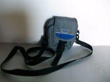 Gelert Grey/Blue Camera Bag, 2xZipped Pockets/Belt Loop/Removable Strap, BNWOT