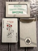 Vintage Factory Sealed Sheffield Joliet Custom Playing Cards Lot Of 2 (Liberty)