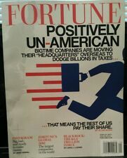 Fortune Positively Un-American companies moving overseas July 2014 FREE SHIPPING