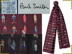 PAUL SMITH Scarf Double Side For Man Made In Italy 195€, Here Less¡ PS28 D-1