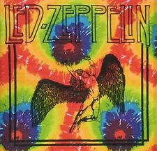 POSTER TAPESTRY: LED ZEPPELIN - SWAN SONG - TIE DYE (ICARUS, SUNBURST) TYE DIE