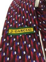 J Garcia Silk Tie  Grateful Dead Ritual Moon Collection #20