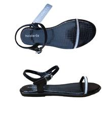 Funda 0z Negro Brillo Zapato Sandalia SIZE UK 4 - 8