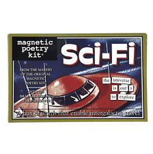 Sci Fi Fridge Magnet Poetry Set - Science Fiction Fridge Poetry