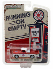 Greenlight 1962 Dodge D-100 Long Bed Red Crown Gasoline 1:64 Red/White 41020-A