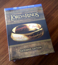 IL SIGNORE DEGLI ANELLI The Lord of the Rings Trilogia Extended 6 Blu-ray 9 DVD
