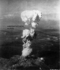 "Atomic Bomb dropped on Hiroshima 8/6/45  8""x 10"" World War II Photo Picture #142"