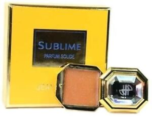 SUBLIME by Jean Patou 0.09 oz/2.8G Parfum Solid New in Retail Box, Discontinued!