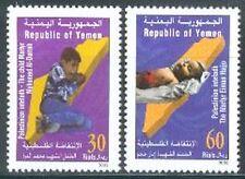 Yemen Republic 2002 ** Mi.234/35 Intifada Palästina