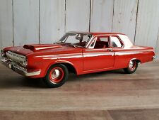 Maisto 1963 Dodge 330 Wedge Mopar 1:18 Scale Diecast Model Car Red