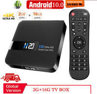 2020 Android 10 Smart TV BOX 4K google play Netflix 3D vidéo Youtube Décodeur