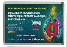 Global Citizen Live - Sept 2021 London Event- Fridge Magnet Large 90 mm x 60 mm