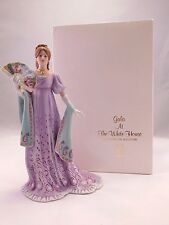 """Lenox American Fashion Collection: 1987 Boxed """"Gala At The White House"""" Figurine"""