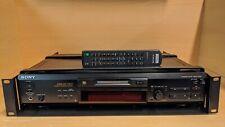Sony MDS-JE530 Minidisc Deck Mini Disc Player Recorder + Remote & Rack Mount