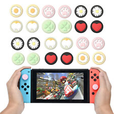 4pc Silicone Joystick Analog Thumb Grip Stick Cap Cover For Nintendo Switch/Lite