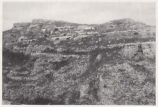 D6012 Grotte sforacchiate nella gravina di Matera - Stampa d'epoca - 1933 print