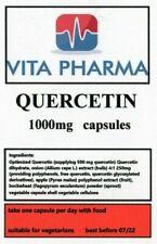 HIGH STRENGTH QUERCETIN 1000mg 120 caps immune health anti bacterial