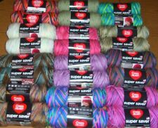 Lot of 2 Skeins, Red Heart Super Saver Yarn, 5 oz, Several Colors To Choose From