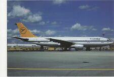 Condor Airbus A300B4-2 Aviation Postcard, B008