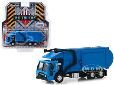 2019 MACK LR REFUSE GARBAGE TRUCK BLUE 1/64 DIECAST MODEL BY GREENLIGHT 45070 C