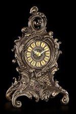 Baroque Table Montre avec Fougères - Horloge de mantel Déco Veronese