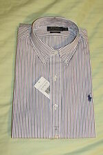 RALPH LAUREN polo Custom fit dress shirt size 15 Collar new with tags RRP £ 82.50