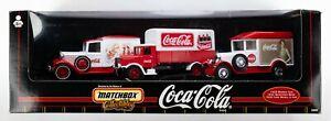 1999 Matchbox Collectibles Coca-Cola Set '29 Morris / '32 Mercedes / '30 Ford