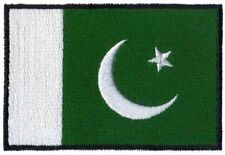 2 pcs PAKISTAN Flag Embroidered Iron on Patches - PAKISTAN