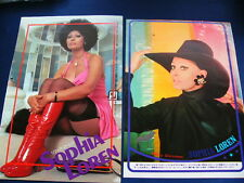 1970s Sophia Loren 17 Japan VINTAGE Clippings & Poster MAN OF LA MANCHA VERY RAR
